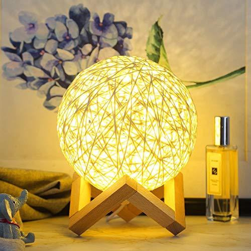 Luz de noche para niños decoración de dormitorio luz de noche USB decoración de dormitorio familiar lámpara sepak takraw A2 15x15cm
