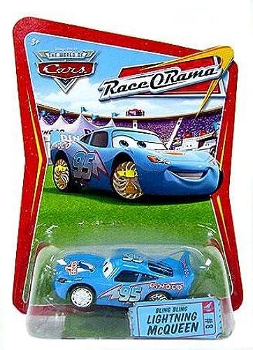 Disney Pixar - CARS - THE WORLD OF CARS - Die-Cast - RACE O RAMA - Bling Bling Lightning McQueen