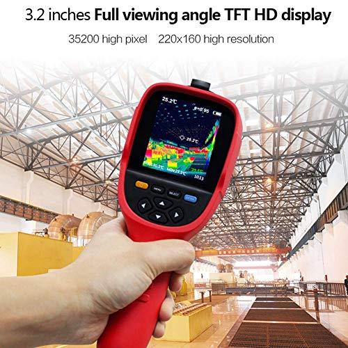 AKAKKSKY Infrarood HD warmtebeeldcamera koude hot spot volgen precies lokaliseren hot spots snelle temperatuurregistratie vloerverwarming detector Imaging camera