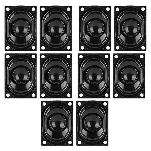 ASHATA 5 paar 4 Ohm 3 W TV luidspreker waterdichte luidspreker versterker subwoofer 700-20KHz voor LCD TV reclame speler