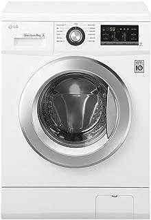 LG FH2J3QDNP0 1000 RPM Direct Drive Motor Front Load Washing Machine, 7 Kg - White