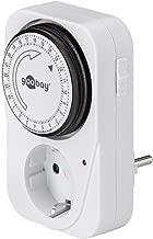 Goobay 51276 Temporizzatore elettrico analogico per la presa e il controllo preciso e semplice dei dispositivi elettronici