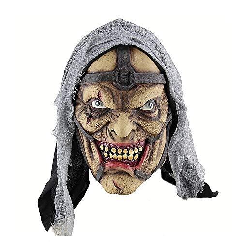 GROSSARTIG Halloween Masker Halloween Horror Sorceress Pokemon Man Masker Amazon Buitenlandse Handel Latex Ghost Masker Hoofddeksels Masker