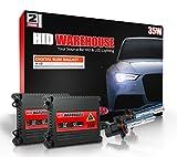 HID-Warehouse 35W DC Xenon HID Lights with Premium Slim Ballast - 9005 30000K - 30K Deep Blue