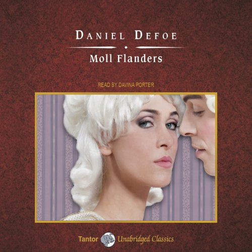 Moll Flanders audiobook cover art