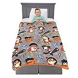 Franco Kids Bedding Super Soft Plush Throw Blanket, 46' x 60', Ryan's World