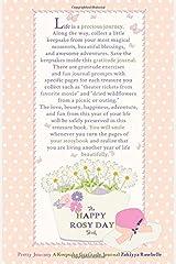 The Happy Rosy Day Book, Pretty Journey: A Keepsake Gratitude Journal ペーパーバック