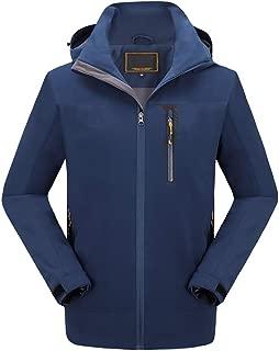 Hiver Veste de Ski imperm/éable et Coupe-Vent Sports Chauds Courts /épais et de Loisirs avec Capuchon Starry sky Veste Homme