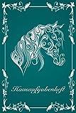 Hausaufgabenheft: Zum Notieren der Hausaufgaben für ein komplettes Schuljahr, inkl. Stundenplan, Schulnoten, Notizen: Schulplaner mit Pferd Design für ... Gymnasium - ca. DIN A5 (German Edition)