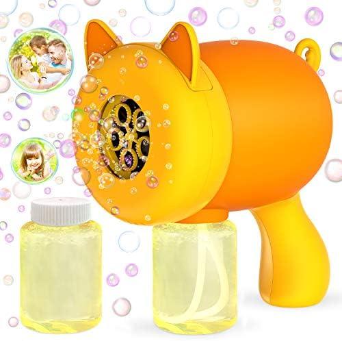 WisToyz Bubble Machine Bubble Blower Cat Bubble Maker 800 Bubbles Per Minute Anti Leakage Bubble product image