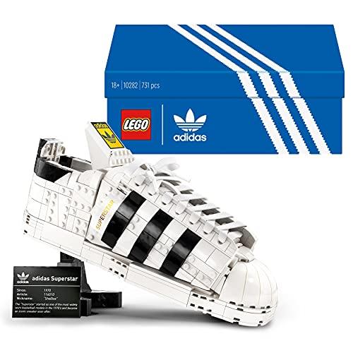 LEGO 10282 Adidas Originals Superstar, Set de Construcción para Adultos de...