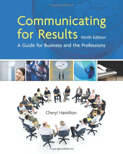 Communicating for Results: A Guide for Business and the Professions (Available Titles CourseMate)