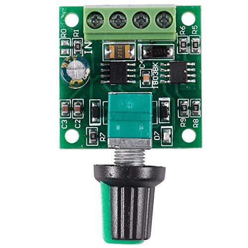 RETTI 1.8V 3V 5V 6V 12V 2A Motor Drehzahlsteller Regler Kontroller 30W PWM 1803B K7