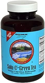 Maximum Living Solu-C with Green Tea - 120 Capsules