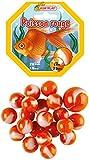 Kim'Play-20 Canicas + 1 Calota Pez Rojo, Color Colorido (A1804248)