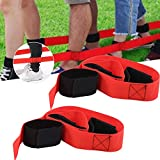 Yisenda Kooperatives Teamrennen, leichtes, hochfestes Tie-Bein-Rennspiel, Gute Zähigkeit für die Erweiterung des studentischen Sportteams