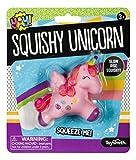 Toysmith Squishy Unicorn, Slow Rise Squishy, Fun Size