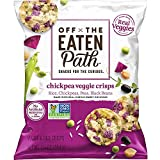Off The Eaten Path Chickpea Veggie Crisps, 1.25 oz (Pack of 16)