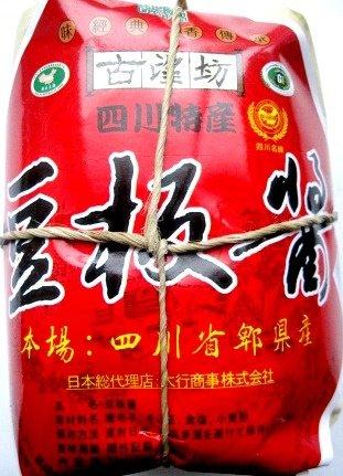 熟成豆板醤 四川特産 1kg 1000g 古望坊牌 四川省??? 賞味期限2018年4月22日
