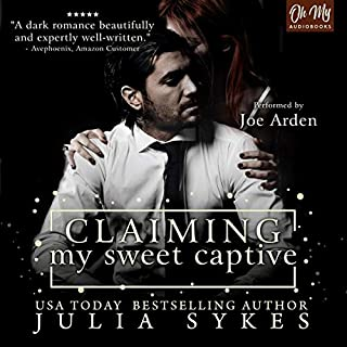 Claiming My Sweet Captive audiobook cover art