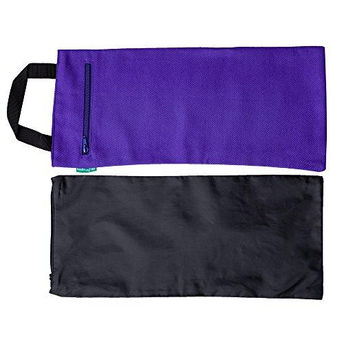 Bolsas de yoga | Bolsa doble con bolsa interior resistente al agua | Prop para añadir peso y apoyo