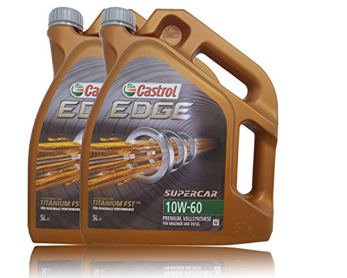 Castrol Edge Titanium Supercar FSTTM 10W-60 2X 5 L = 10 Liter
