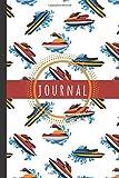 Jetski Journal: Jetski Notebook: Jetski Water Scooter Journal Notebook To Write In - Jetski Gifts For Jetski Lovers Men Women Boys Girls Teens Kids: ... 6' x 9' (Journals & Notebooks, Band 201)