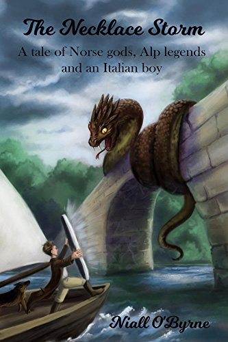 The Necklace Storm: A tale of Norse gods, Alp legends and an Italian boy (English Edition)