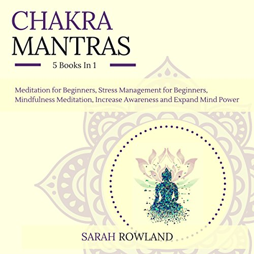Chakra Mantras: 5-in-1 Meditation Bundle audiobook cover art