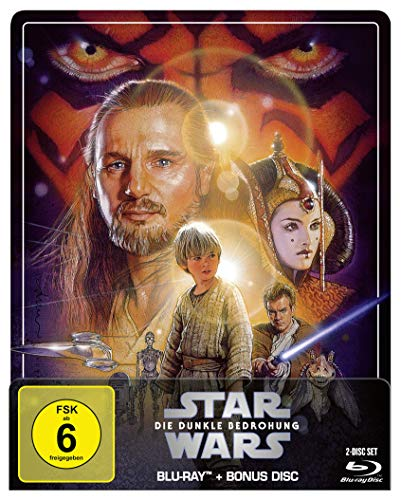 Star Wars: Episode I - Die dunkle Bedrohung - Steelbook Edition [Blu-ray]
