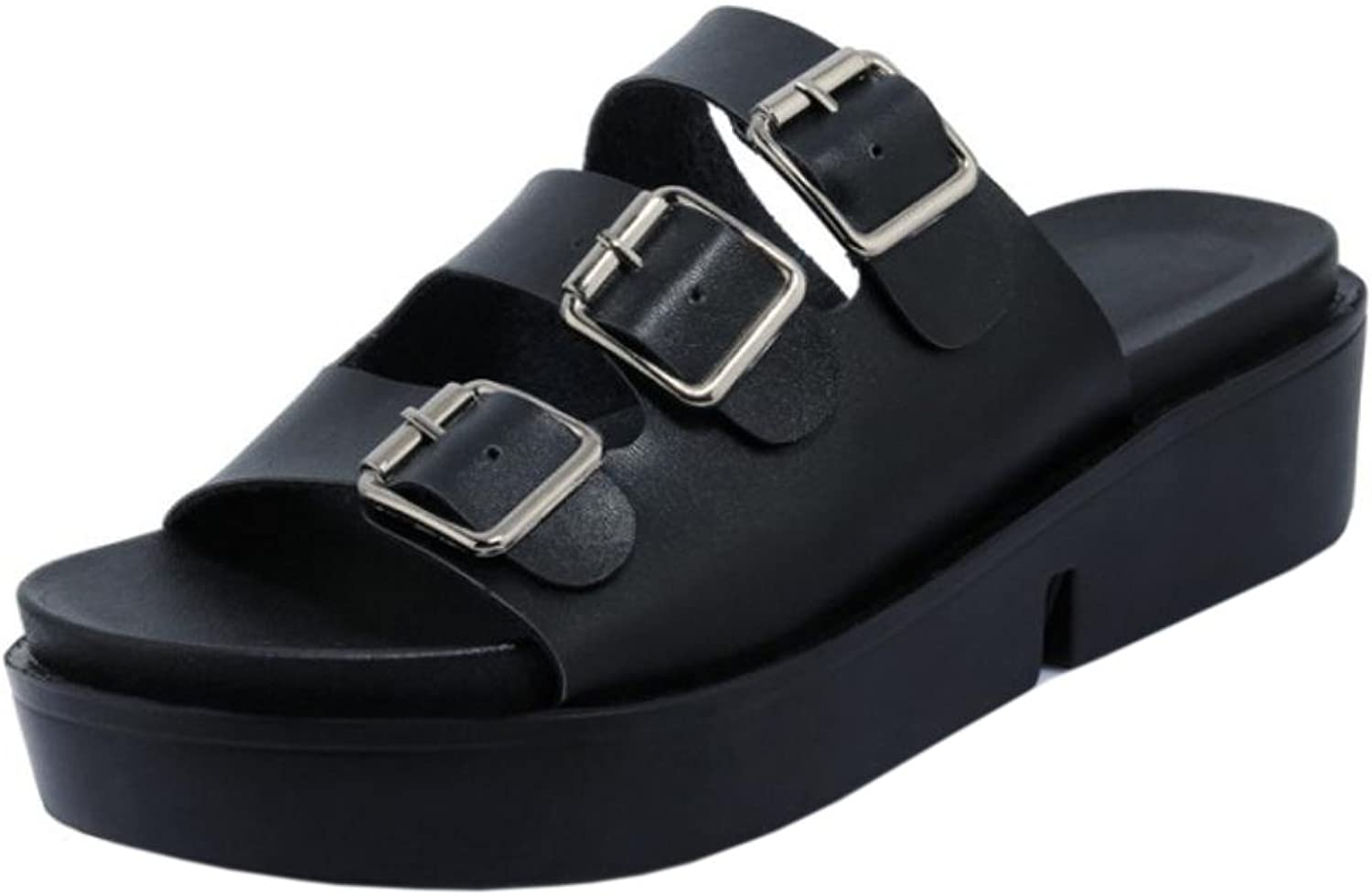 TAOFFEN Women's Casual Sandals Mules shoes