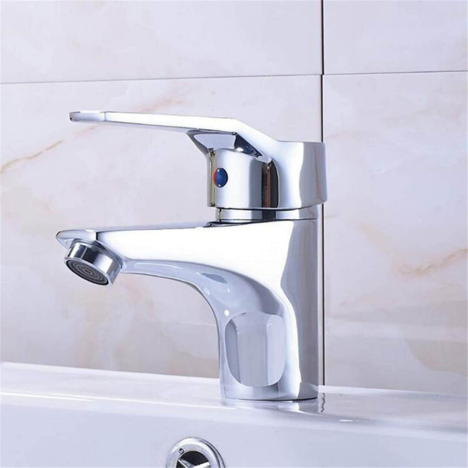 Retro Faucethot and Cold Water One Handle Hole Faucet Mixer Tap