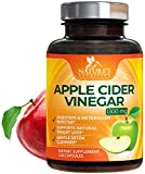 100% Natural Raw Apple Cider Vinegar Pills Extra Strength 1300mg - Weight and Appetite Support, Made in USA, Best Vegan ACV, Metabolism Support & Detox Cleanse Supplement - 120 Capsules