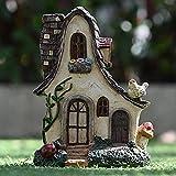 Decoraciones creativas de resina para decoración de casas de cuento de hadas de niñas, niños, ministros de jardín, decoración de micropaisajes, macetas, decoración de interiores, escritorios