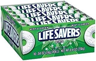 LifeSavers Wint-O-Green Mints, 0.84-Ounce Rolls (Pack of 60)(uscandyonline)