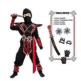 Spooktacular Creations Ninja Dragon Red Costume...