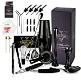 The Complete Mixology Bartender Kit 20-Piece Boston Cocktail Shaker Set - Premium Bar Accessories &...