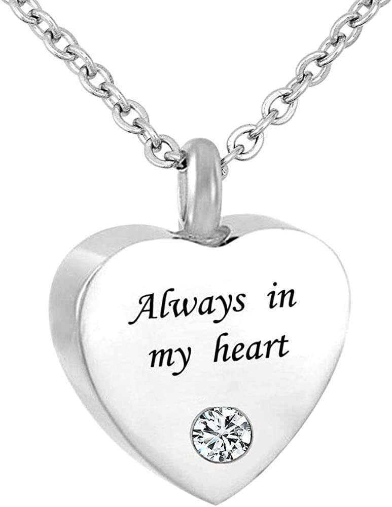 Cool OFFicial shop Jewelry Stainless Steel -Always in My Colors Boston Mall Bir - 12 Heart