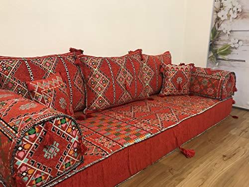 Orientalische Sitzecke,Kelim Sitzkissen,Bodenkissen Original Arabische Beduinen0 riginal ARABISCH