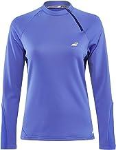 Babolat Dames, Performance 1/2 Zip Sweatshirt lichtblauw, donkerblauw, XL bovenkleding
