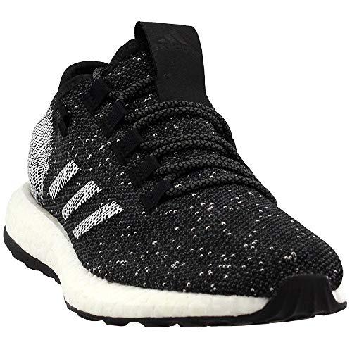 adidas Mens Pureboost Running Casual Shoes, Black, 6.5