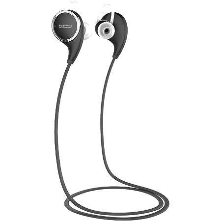 QCY Bluetooth4.1対応ワイヤレスイヤホン(ブラック)QCY QCY-QY8BK