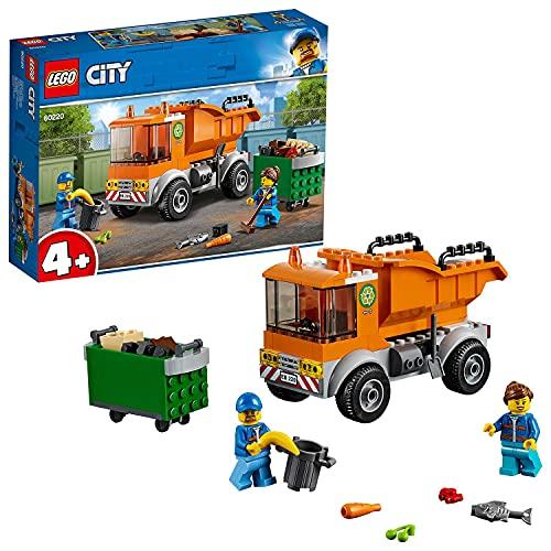 LEGO60220CityCamióndelaBasuraJuguetedeConstrucciónparaNi