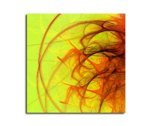 Moderne abstrakt017_60 x 60 cm sur toile motif abstrait intérieur décoration indémodable, 047