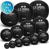 C.P. Sports Medizinball K5, Gewichtsball, Medizinbälle, Crossfit Ball - Erhältlich: 5kg