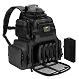 TIDEWE Tactical Range Backpack Bag for Gun and Ammo with Pistol Case (Black)