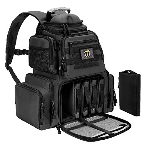 TIDEWE Tactical Range Backpack Bag for Gun and Ammo with...