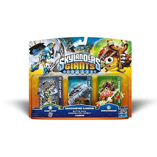 Skylanders Giants: Battle Pack (Chop Chop, Shroomboom, Cannon Piece)