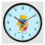Reloj de Pared para niños Adorable Unicornio Unicornio Reloj de Pared Tranquilo sin...