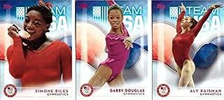 gymnastics trading cards